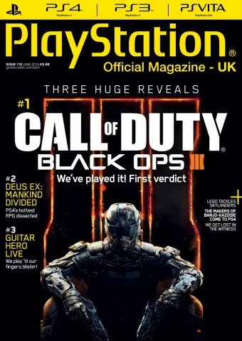 Playstation Official Magazine UK 110 (June 2015)