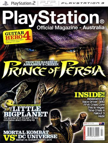 PlayStation Official Magazine Issue 018 (July 2008)
