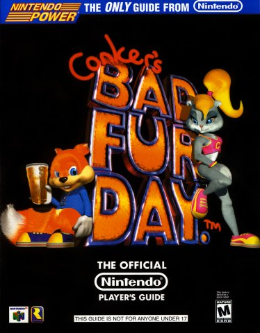 Conker's Bad Fur Day Nintendo Player's Guide