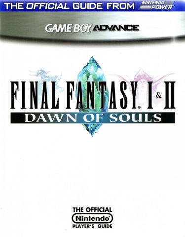 Final Fantasy I & II Dawn of Souls Nintendo Player's Guide