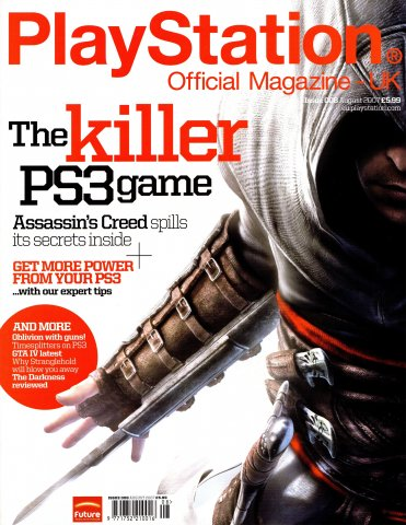 Playstation Official Magazine UK 008 (August 2007)