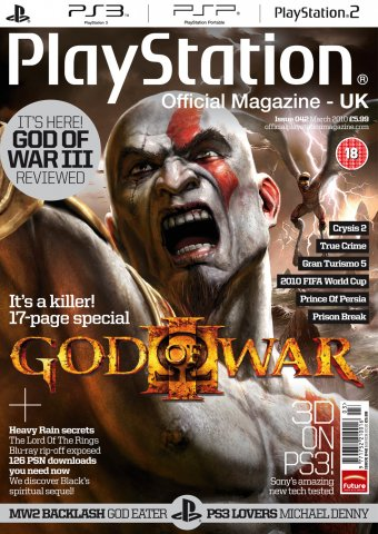 Playstation Official Magazine UK 042 (March 2010)