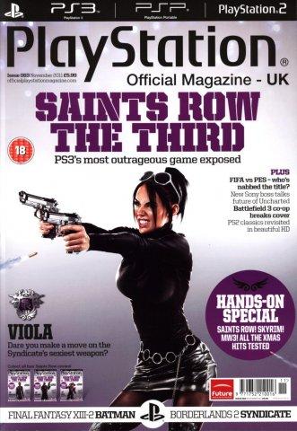 Playstation Official Magazine UK 063 (November 2011) *cover 2*