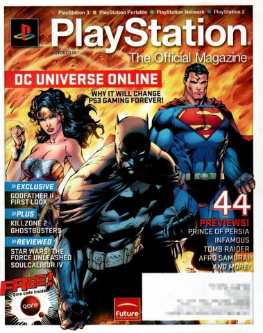 PlayStation The Official Magazine (USA) Issue 011 (October 2008)