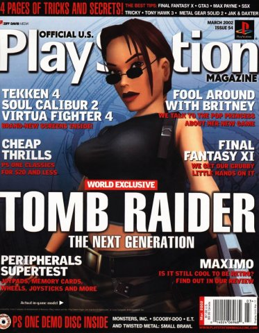 Official U.S. Playstation Magazine Issue 054 (March 2002)