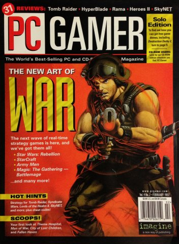 PC Gamer Issue 033 (February 1997)