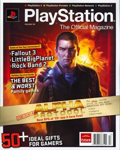 PlayStation The Official Magazine (USA) Issue 014 (Xmas 2008)