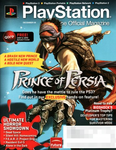 PlayStation The Official Magazine (USA) Issue 013 (December 2008)