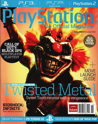 Playstation The Official Magazine (USA) Issue 038 (November 2010)