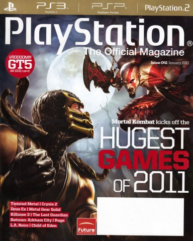 Playstation The Official Magazine (USA) Issue 041 (January 2011)