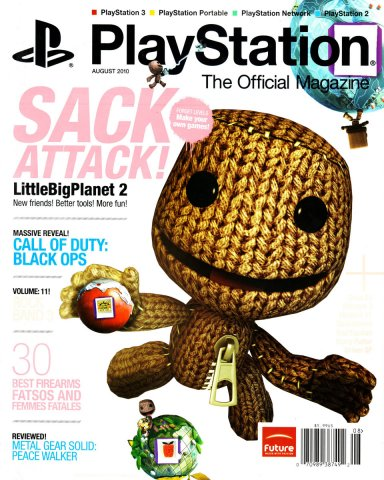 Playstation The Official Magazine (USA) Issue 035 (August 2010)