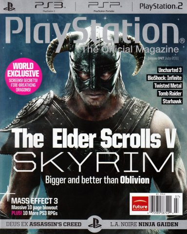 Playstation The Official Magazine (USA) Issue 047 (July 2011)