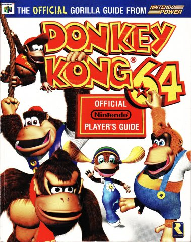 Donkey Kong 64 Nintendo Player's Guide