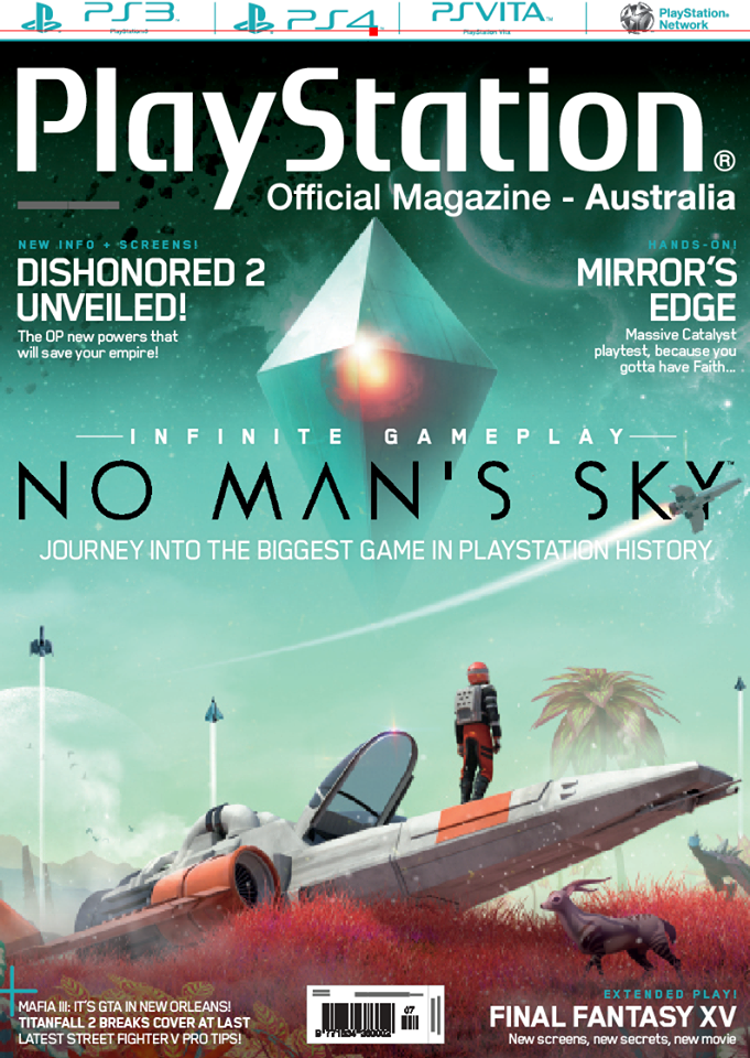 PlayStation Official Magazine Issue 122 (July 2016)