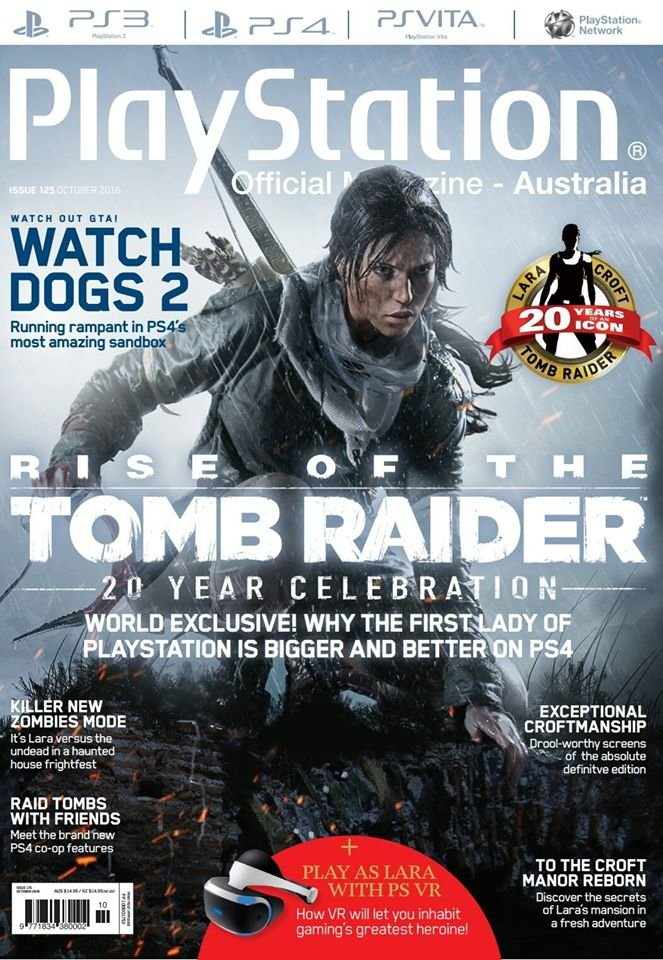 PlayStation Official Magazine Issue 125 (October 2016)