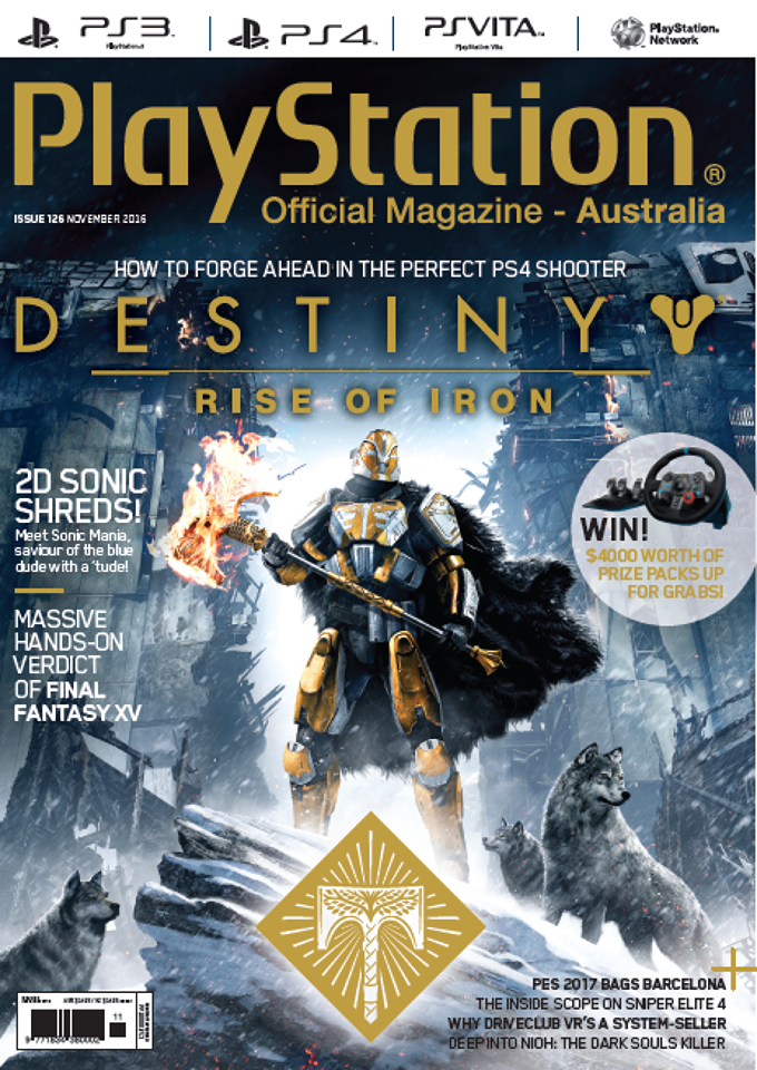 PlayStation Official Magazine Issue 126 (November 2016)