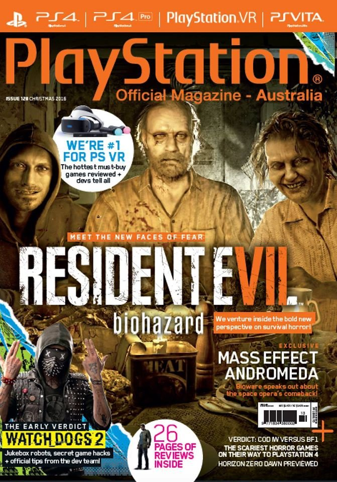 PlayStation Official Magazine Issue 128 (Xmas 2016)