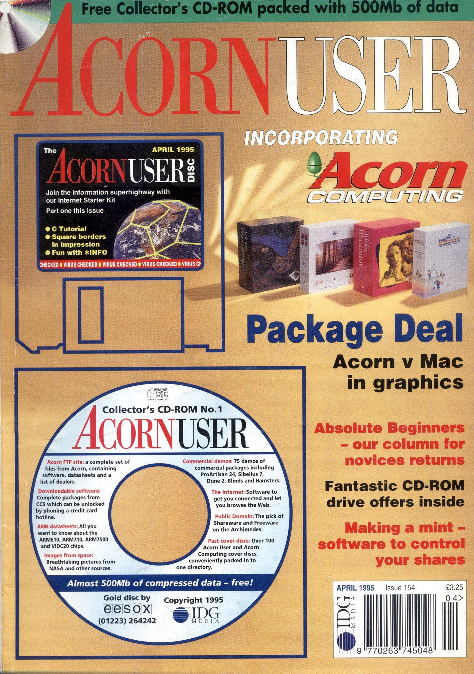Acorn User 154 (April 1995)