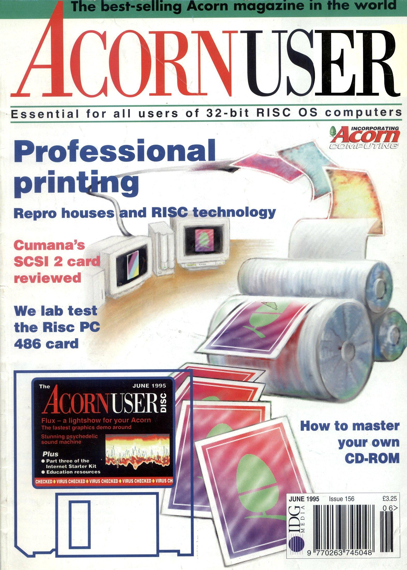Acorn User 156 (June 1995)