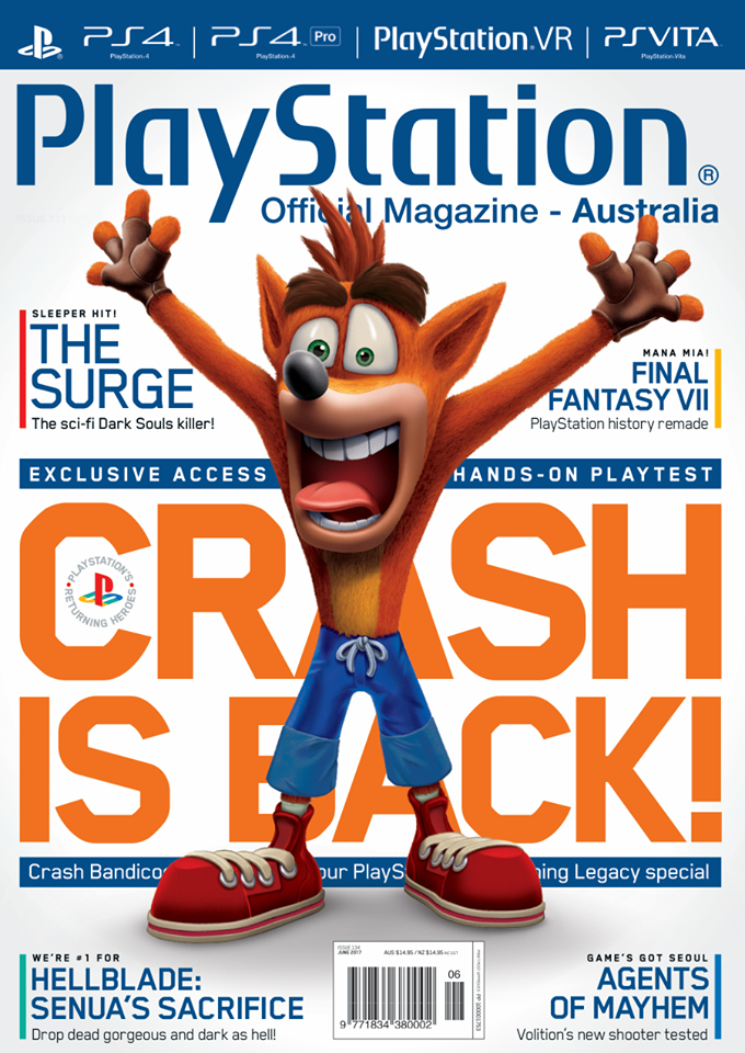 PlayStation Official Magazine Issue 134 (June 2017)