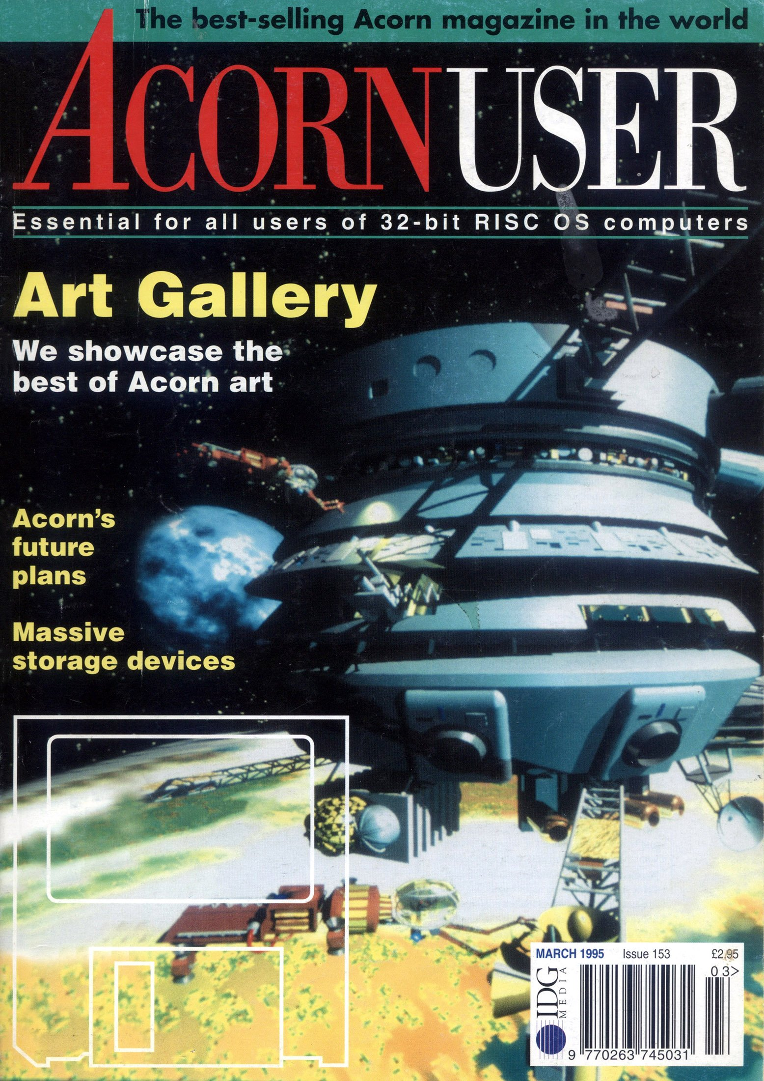 Acorn User 153 (March 1995)