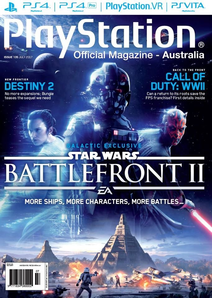 PlayStation Official Magazine Issue 135 (July 2017)