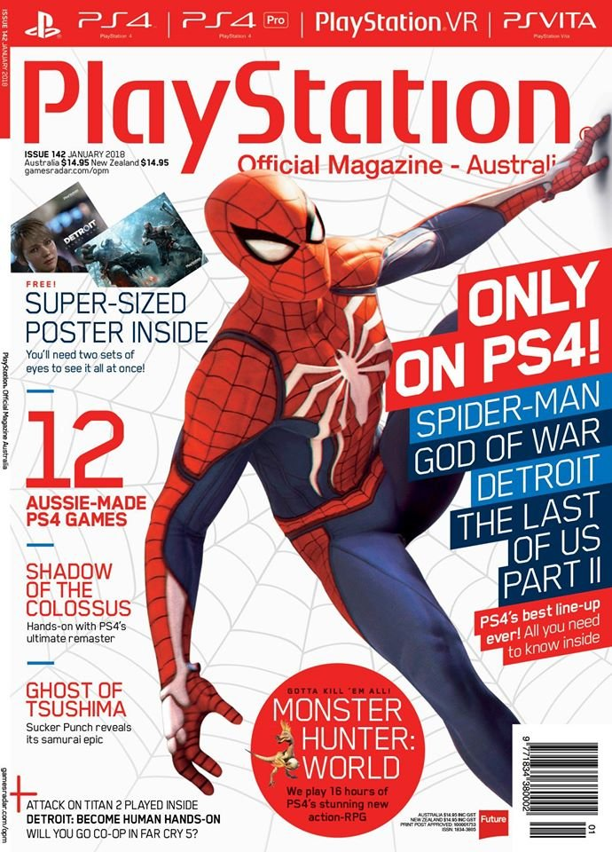 PlayStation Official Magazine Issue 142 (January 2018)