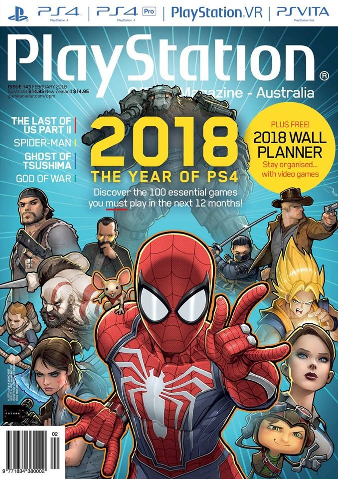 PlayStation Official Magazine Issue 143 (February 2018)