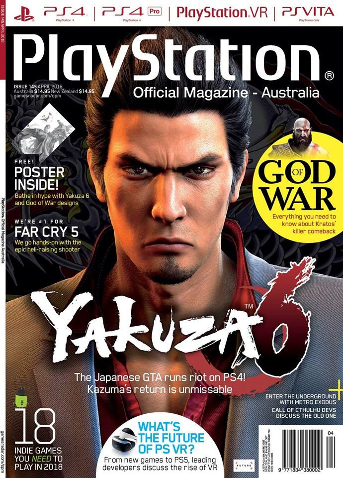 PlayStation Official Magazine Issue 145 (April 2018)