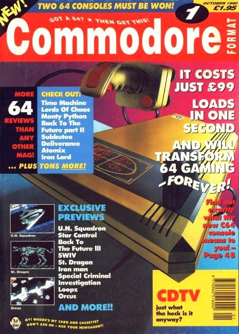 Commodore Format Issue 01 (October 1990)
