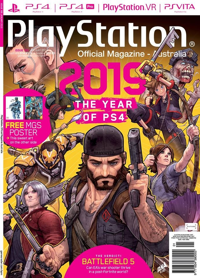 PlayStation Official Magazine Issue 155 (January 2019)