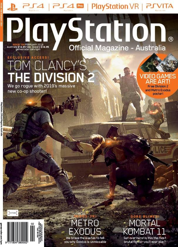 PlayStation Official Magazine Issue 156 (February 2019)