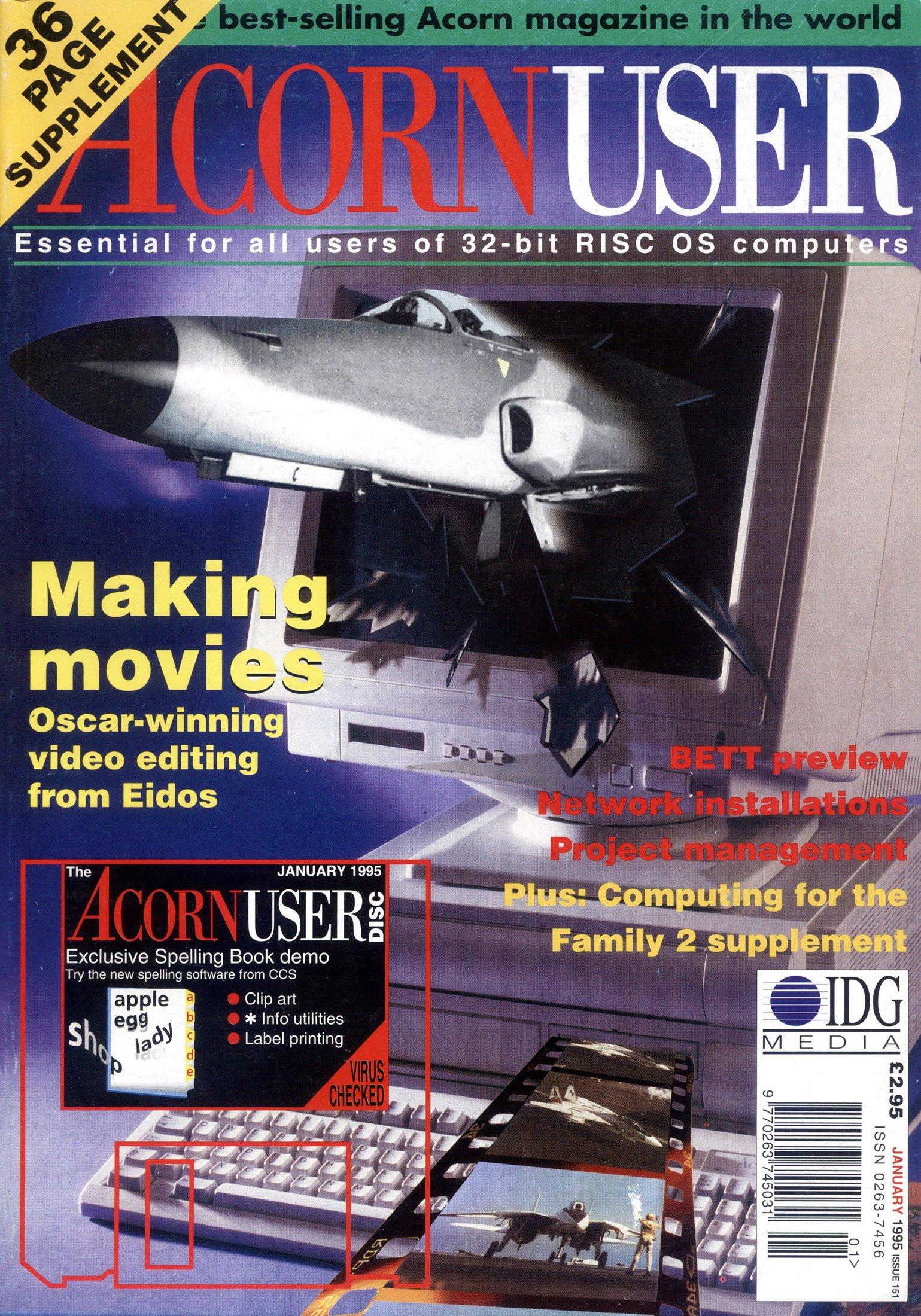 Acorn User 151 (January 1995)
