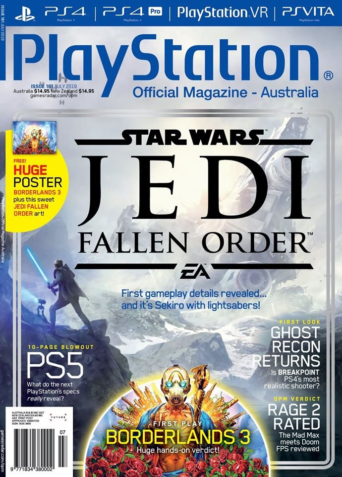 PlayStation Official Magazine Issue 161 (July 2019)