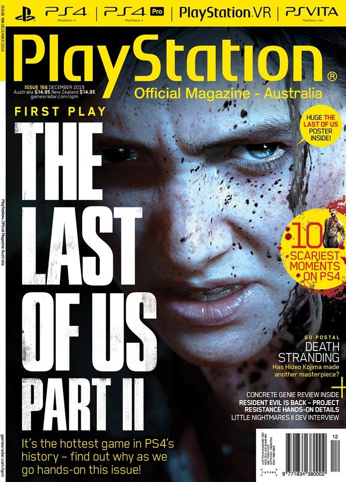 PlayStation Official Magazine Issue 166 (December 2019)