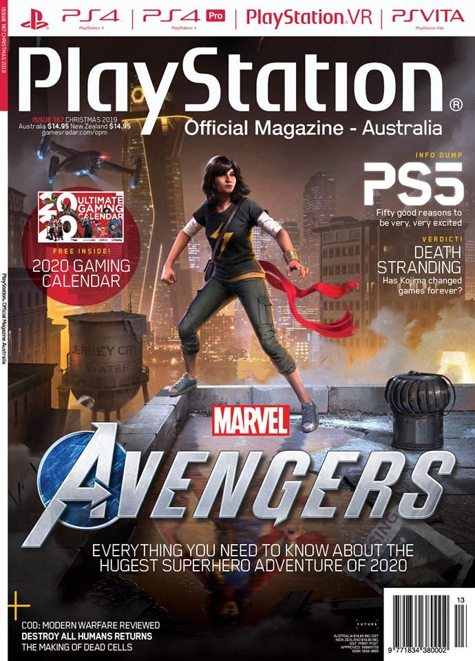 PlayStation Official Magazine Issue 167 (Xmas 2019)