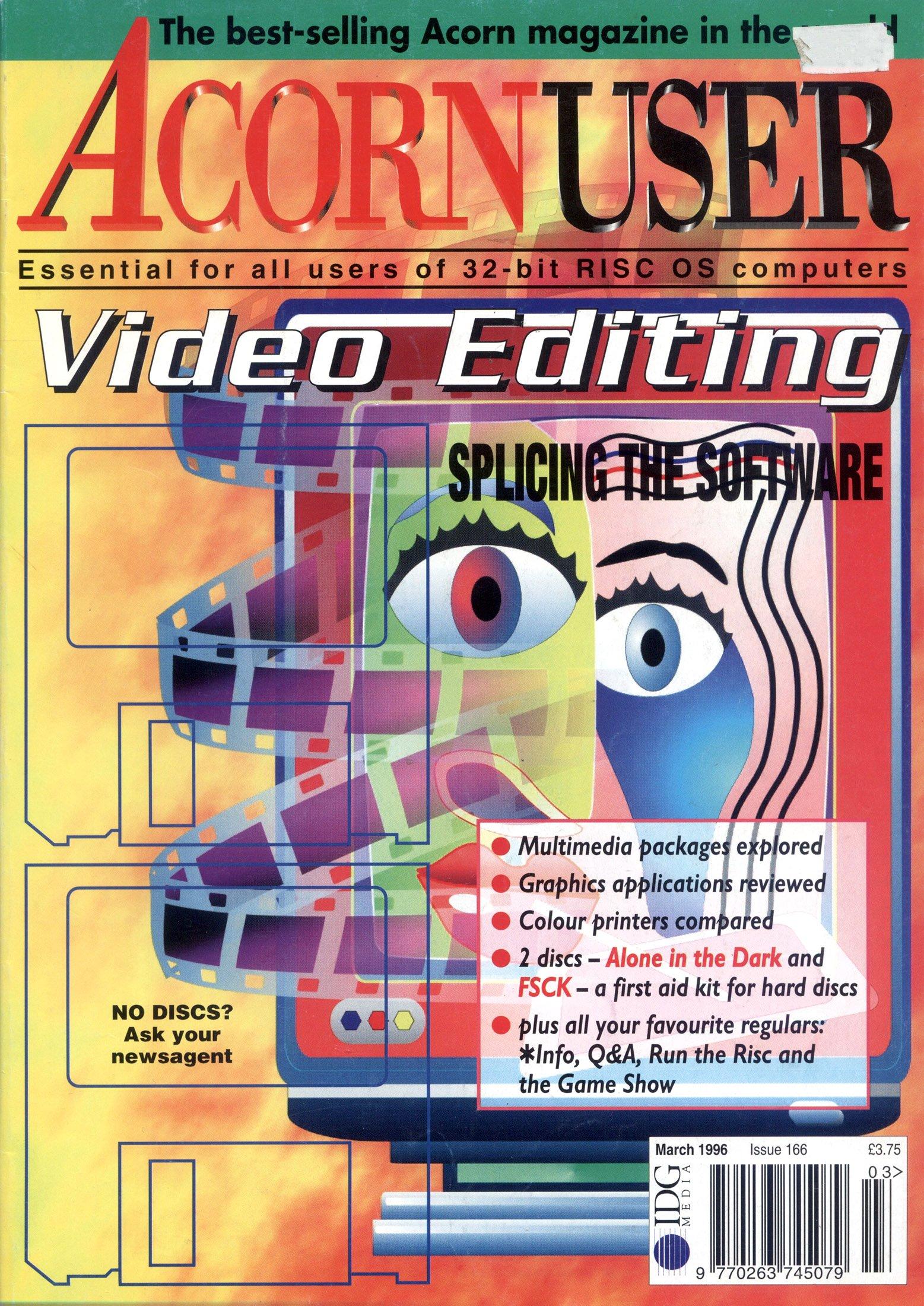 Acorn User 166 (March 1996)