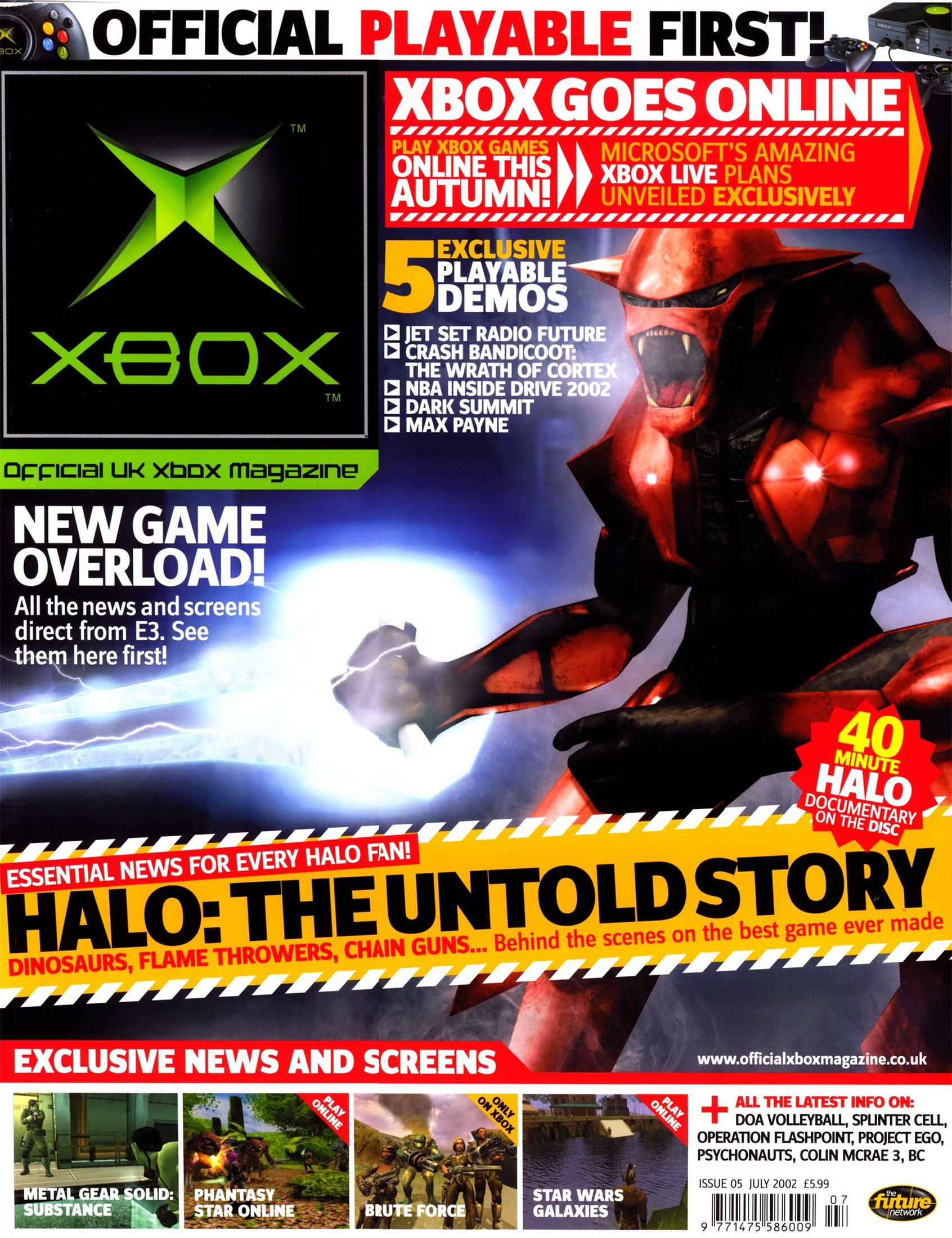 Official UK Xbox Magazine Issue 05 - July 2002