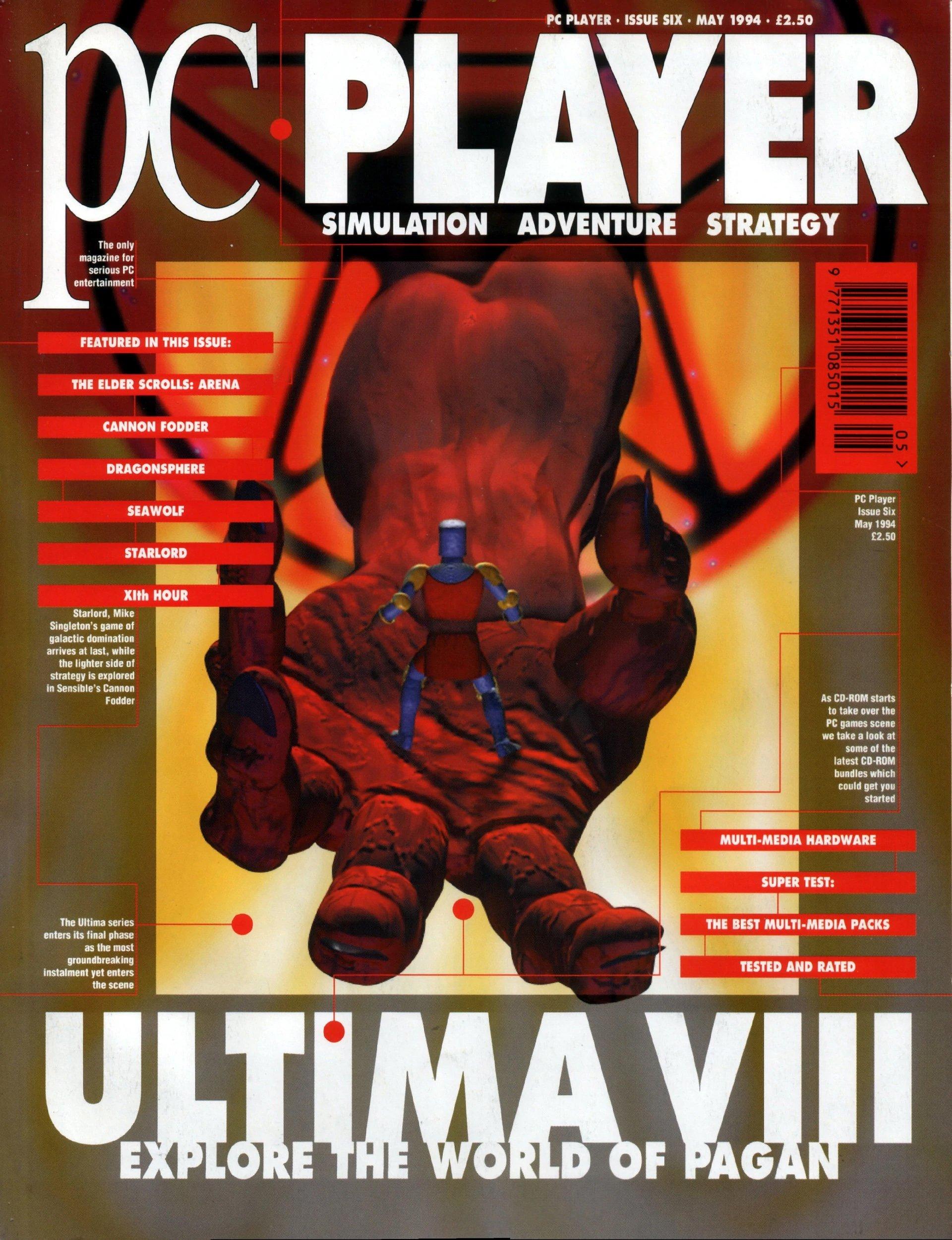PC Player (Maverick Magazine) Issue 06 (May 1994)