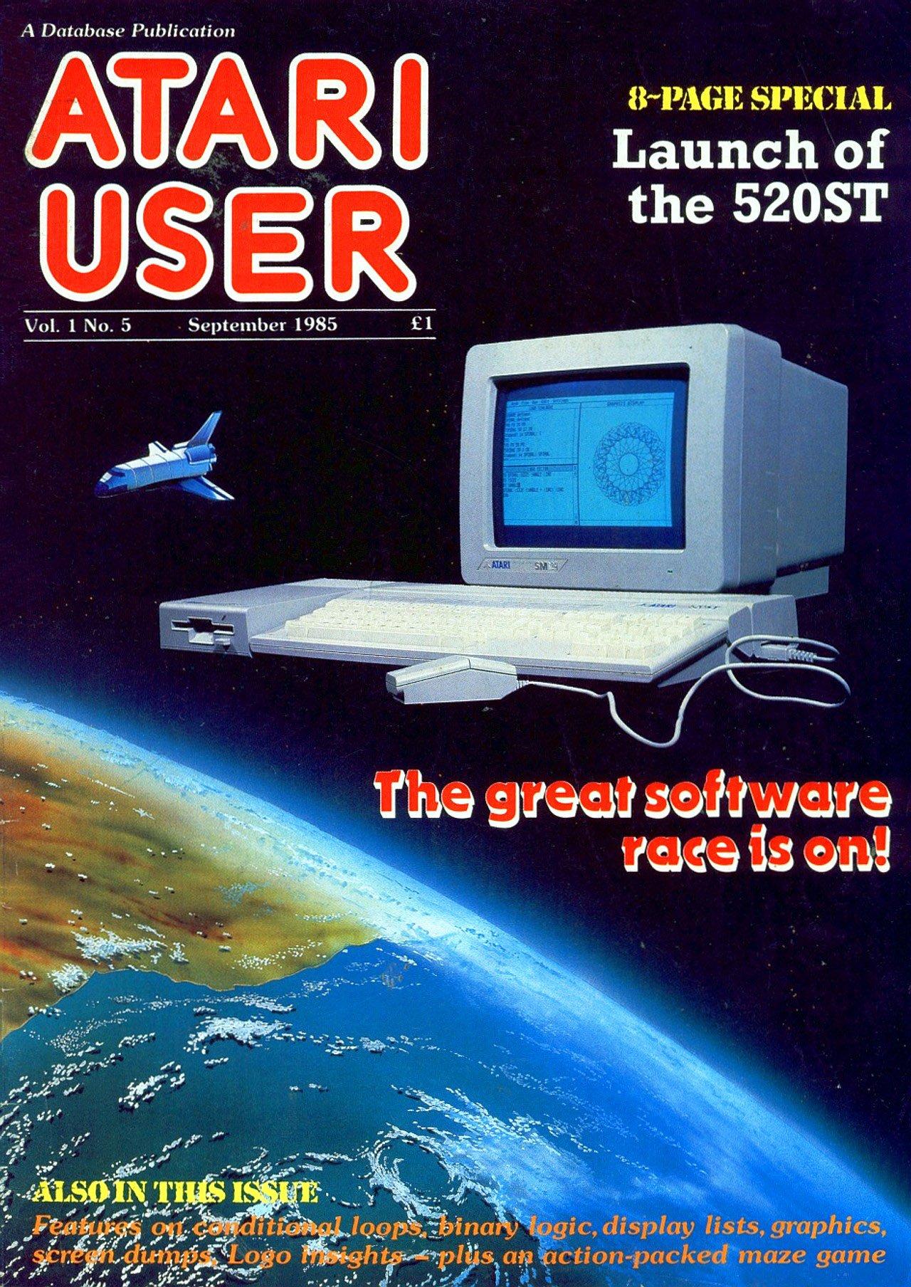 Atari User Vol. 01 No. 05 (September 1985)
