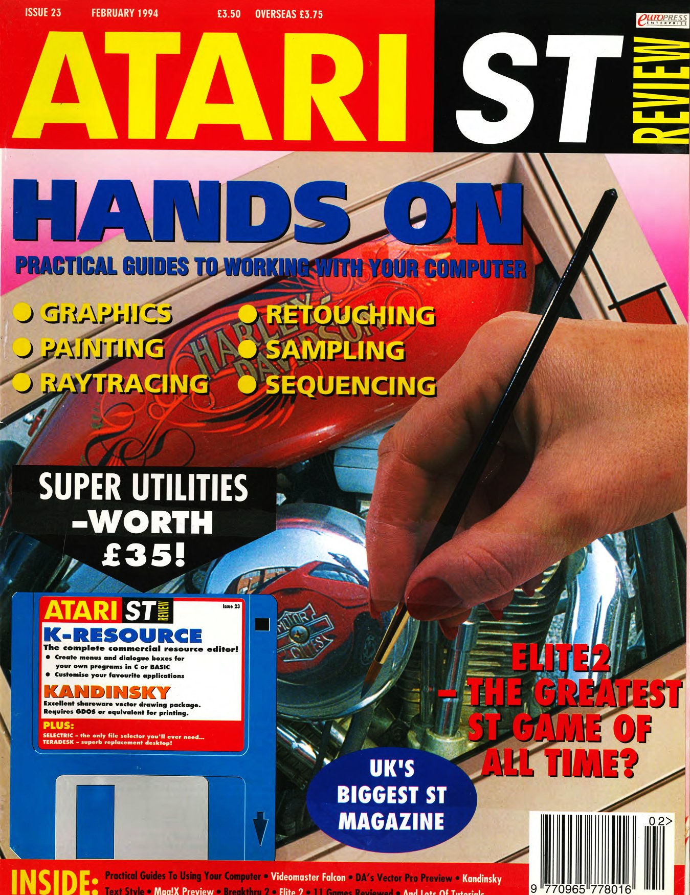 Atari ST Review Issue 23 (February 1994)