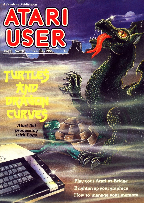 Atari User Vol. 01 No. 10 (February 1986)