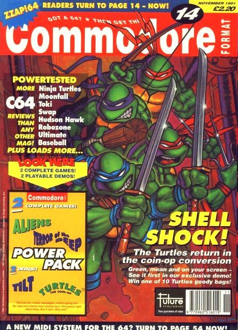 Commodore Format Issue 14 (November 1991)