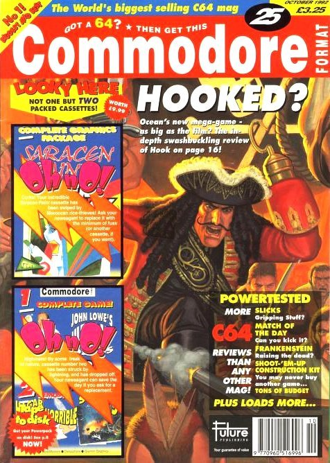 Commodore Format Issue 25 (October 1992)
