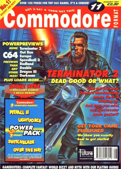 Commodore Format Issue 11 (August 1991)
