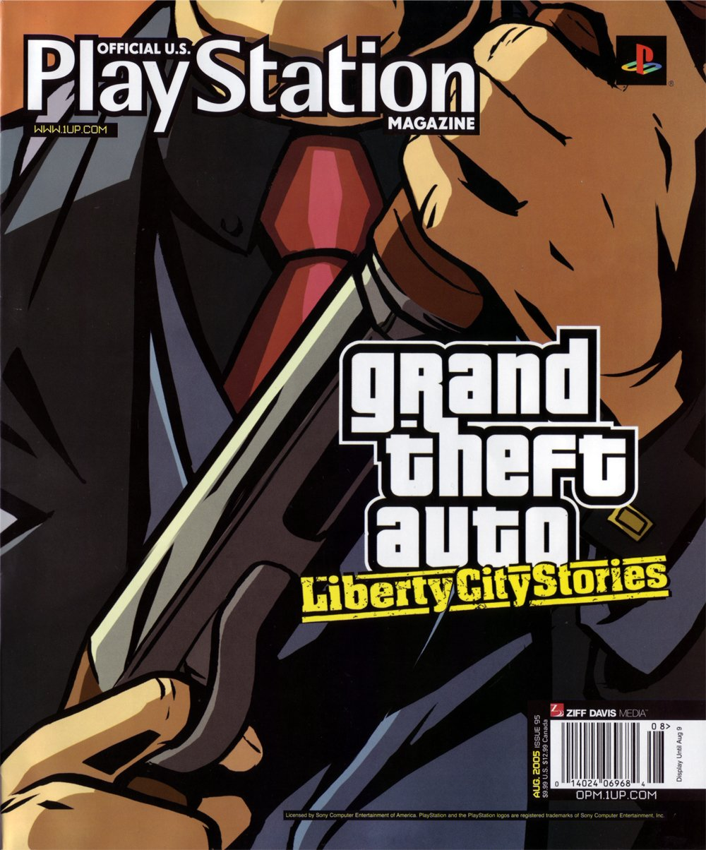 Official U.S. PlayStation Magazine Issue 095 (August 2005)