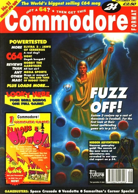 Commodore Format Issue 24 (September 1992)