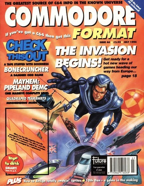 Commodore Format Issue 46 (July 1994)