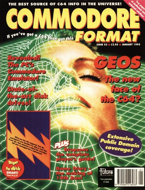 Commodore Format Issue 52 (January 1995)