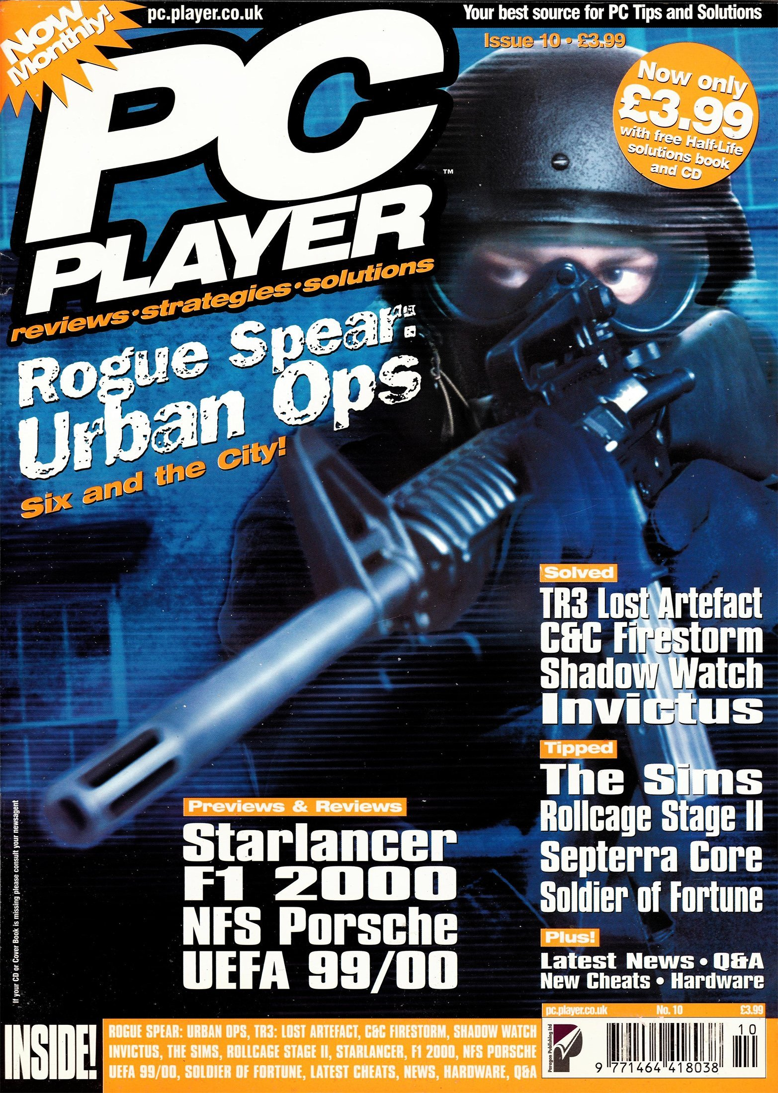 PC Player (Paragon Publishing) Issue 10
